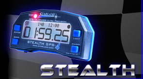 Laptimer STEALTH mit TWIN GPS, Best Lap Led und Datarecording