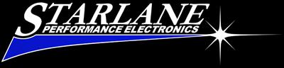 Starlane Electronics, ihr Spezialist für GPS Laptimer, Schaltautomaten und Datarecording-Logo